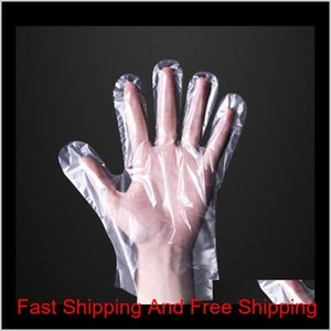 Household Cleaning Tools Housekeeping Organization Home & Garden100Pcs Bag Plastic Disposable Food Prep Gloves For Cooking,Cleaning,Food Han