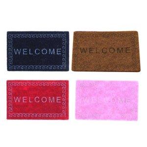 1:12 Decoration Miniature Doorstep Dollhouse Living Mini Carpet Accessories Room Welcome Mat Doormats Z2M8