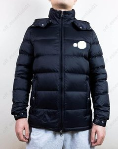 Double-label hooded mens down jacket and vest High Quality Designers Men S Clothing Size 1--5