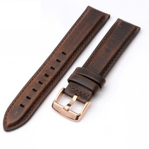 High Quality Genuine Calf Hide Leather For daniel wellington Watch Strap Band For DW Men & Women Accessories Watchband 18MM 20MM
