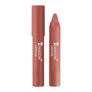 Wholesale Waterproof Long Lasting Lipstick Sexy Lip 12 Colors Velvet Matte Lipsticks Pencil Stick Non-Stick Cup Makeup Tint Pen Cosmetic