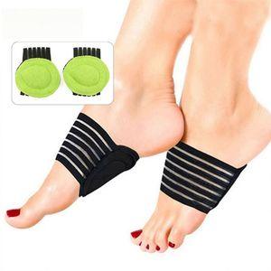 2 قطع القدم حماية الرعاية المنزلية الرئيسية وسادة وسادة آلام القوس دعم footpad تشغيل وسادة الأسود + النعال الرياضية الخضراء