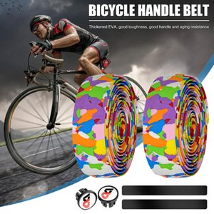 Bike Handlebars &Components A Pair Of Bicycle Handlebar Non-slip Absorption Cloth Tape Camouflage Handle With 9 Colors Bar Bikes Cycli