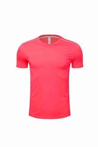 Hombres Mujeres Niños Running Wear Jerseys T Shirt Seco Seco Fitness Entrenamiento Ejercicio Ropa Gimnasio Deportes Tops