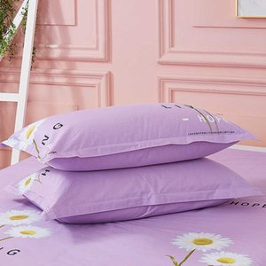 Jiayilian new cotton pillow case pilling and does not fade