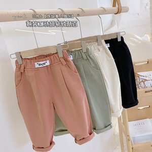 Men's wear 2021 spring new boys' fashion casual pants ck054&. very popular Chinese .