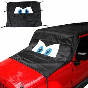 Лобовое стекло крыши Лобовое стекло анти Sunshad Snows Cover для Jeep Wrangler TJ / JK / JL / JT 1996-2020