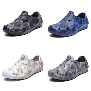 men water shoes summer beach shoe classic white black grey home outdoor soft work sneaker mens breathable sports trainer