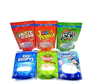 INFUSED TREATS 500mg packing bags Caramel Fruity Pebblez medicatd candy gummies Lucky charmz Free DHL