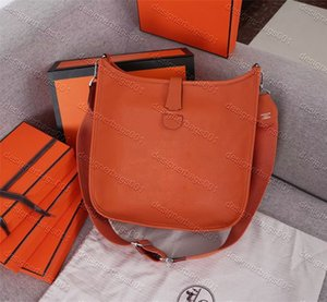 5A Quality Luxurys Designers Women Classic Crossbody bag 7 Colors Cowhide Genuine leather single Shoulder Handbag With box dust bag