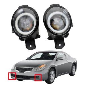 ضوء الضباب لنيسان ألتيما كوبيه 2007-2013 2 × اكسسوارات السيارات عالية الجودة المصابيح الأمامية مصباح LED DRL