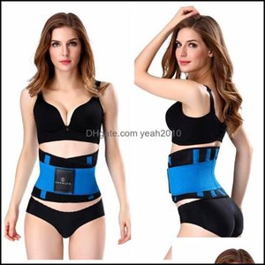 Safety Athletic As & Outdoorsfitness Waist Support Belt Man And Women Running Yoga Protector Outdoor Sports Lumbar Low Back Brace 12Qk Ww Dr