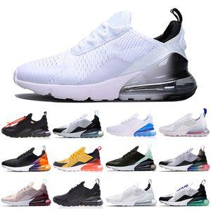 270 27c nuovi colori uomini donne scarpe da ginnastica di sport maschio Athletic Gym 27 femminili camminare all'aperto Sneakers Air