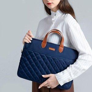 Briefcases Waterproof Shoulder Messenger Laptop Protection Storage Bag Phone Charging Treasure Mouse Organize Handbag Accessorie