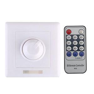 300 W Duvar Dimmer Anahtarı IR LED IR IR Uzaktan Kumanda Ile LED Dim Işık Lambası Ampul 110 V / 220V Dimmerler