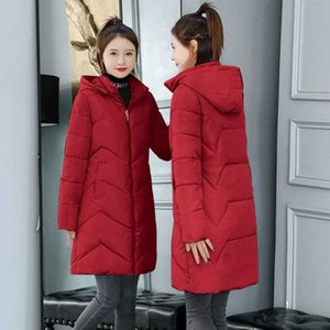 6XL 7XL Plus Size Women Parkas Long Female Cotton Padded Parka Winter Coat Woman Thick Warm Winter Jacket Womens Down Jacket