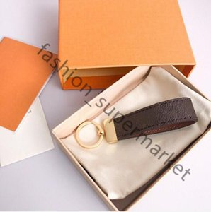 2022 men's . women's gifts top quality leather key chain style 11 color car and gift box wholesale free delivery