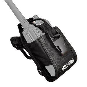 Walkie Talkie MSC-20B Bag Nylon Holster Carry Case For Baofeng UV5R UV82 Bf888S UV-9R Plus UV-B2 TYT Motorola Ham Radio