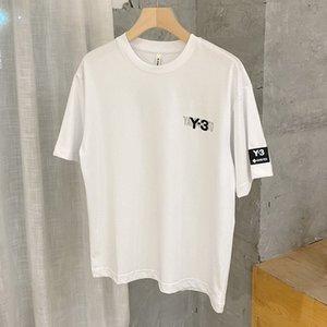 Sommer Mode Marke Y3 Brief Gedruckt Rundhals Halbhülse T-Shirt Herren Casual Sports Kurzarm T-Shirt