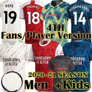 Jersey de football Arsenal 20 21 Pepe Nicolas Ceokos Henry Guendouzi Sokratis Maitland-Niles Tierney 2020 2021 Shirt de football Hommes