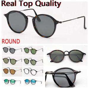 Flight Fleck للنساء الرجال النظارات الشمسية ظلال العدسات الزجاجية الحقيقية uv400 مع حقيبة جلدية القماش والتجزئة حزم الباندا