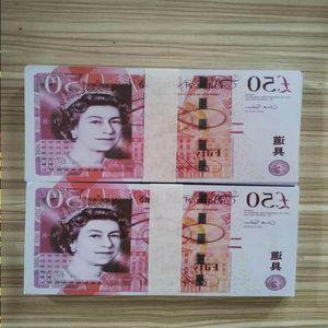 Fake L0129-4 Party Counterfeit Atmosphere Simuationn Billet Props Shooting Currency Money Film,TV Dollar Bills Banknote Magic Bar Atikw