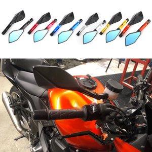 Мотоцикл CNC алюминиевый вид заднего вида зеркала заднего вида боковое зеркало для Yamaha Honda Ducati для Kawasaki Z750 Z900 Z800 Z1000