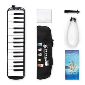 32 Piano Keys Melodica Organ with Carrying Bag Musical Instrument for Music Lovers Beginners Gift Adult