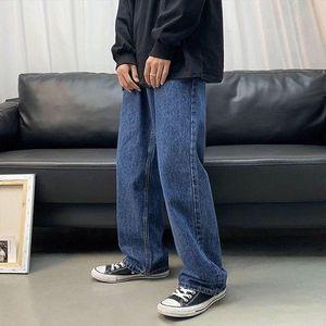 Men's Jeans Plus 2021 Size Men Hip Hop StreetWear Joggers Ankle Length Denim Cargo Pants Loose Pocket Harem Trousers Sweatpants
