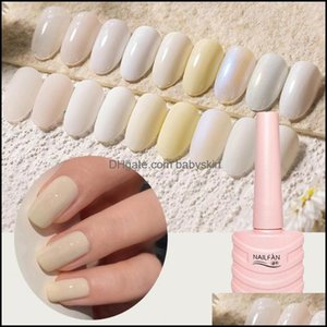 Nail Art Salon Health & Beautynail Polish 10Ml French Style Quick Dry Moonlight White Diy Manicure For Beauty Drop Delivery 2021 Rnjbf