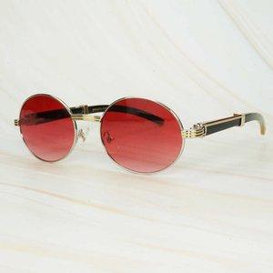 01 콘센트 70 % OFF 레트로 컴퓨터 버팔로 경적 선글라스 트렌디 한 레드 남자 안경 읽기 타원형 독특한 럭셔리 카터 그늘