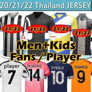 Juventus Fans Player Version Soccer Jerseys juve 2020 2021 4th Human Race de Ligt Morata Dybala Men + Kids Kit Camicie da calcio Camicie da calcio Top