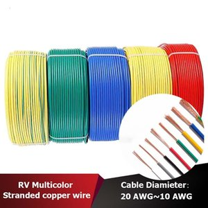 Other Lighting Accessories RV Single-core Wire, Multi-purpose Solid Copper PVC Insulated Cable, Electronic Power