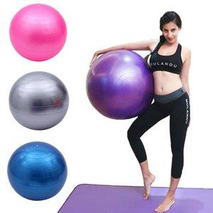 Yoga Balls Sports Pilates Fitness Gym Gym Fit Ball Entraînement Entraînement Entraînement Massage Equipement de maison 55/65 / 75cm
