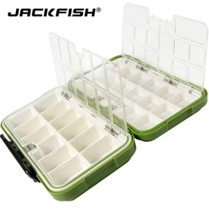Fishing Tackle Boxes Double Layer 30 Compartments Lure 20CM Box For Accessorie Accessories