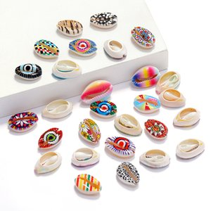 Shell Conch Bleached Cut Processing Shell Printing Shell DIY Handicraft Necklace Bracelet Jewelry Accessories