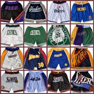 BostónCelticslos AngelesLakersSan Jersey AntonioSpurs Just Sust Ballball Shorts Don Pocket Shorts 15 Ejército Verde