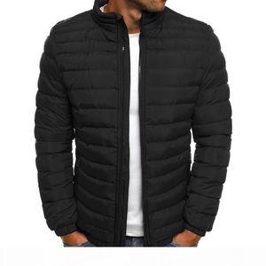 2020 winter coat men Casual fashion 7 colors puffer jacket plus size S-3XL big size men mens winter jackets and coats clothe