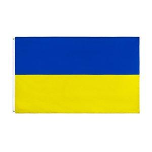 Venta al por mayor Fábrica directa 3x5 FTS 90x150cm Azul Amarillo UA UKR Ucrania Bandera Para Decoración 2 Deducciones OOD5719