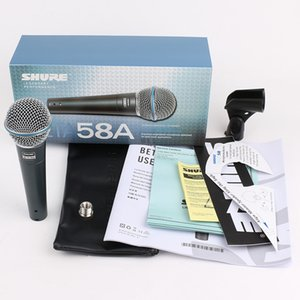 Top Quality Wire Single Handheld Microphones System BETA58 58A UHF Professional Karaoke Microphone Free