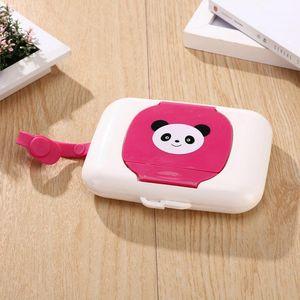 Tissue Boxes & Napkins Home Bath Car Travel Wet Tissues Plastic Dry Wipes Case Baby Wipe Press Up Dispenser Holder Box