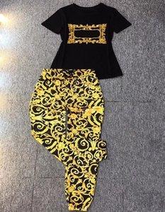 20SS designers de luxo feminino fashionsuits verão moda duas peças calças definir roupas de alta qualidade de manga curta calças esportes terno jaqueta lazer conjuntos de jogging