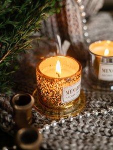 Balmumu eriyik brülör mum zanaat ev parfüm düğün mumlar retro yatıştırıcı uyku velas grandes bahçe EF50SC