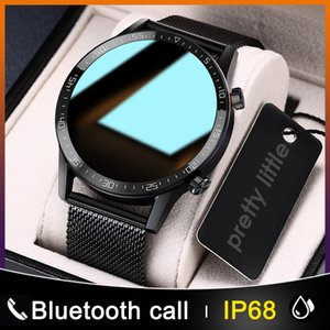 ID L13 Smart Watch Men IP68 Waterproof ECG PPG Bluetooth Call Blood Pressure Heart Rate Fitness Tracker Sports Smartwatch