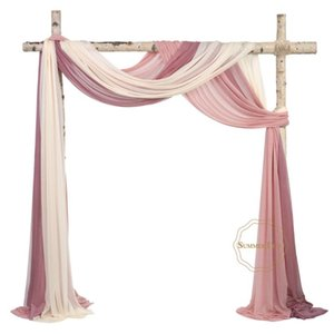Curtain & Drapes Wedding Arch Drapping Fabric 29