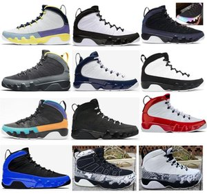 9 Universidad Gold Cambiar el mundo University Blue Basketball Shoes Men 9s Space Jam Gym Red Racer Blue Chameleon UNC antracita Suena Sneakers