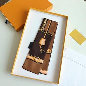 Lenço do desenhista de luxo Cachecol da mulher, carta de moda cópia bolsa lenços, gravatas, pacotes de cabelo, 100% material de seda envoltórios