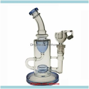 Other Supplies Retail Services Office School Business & Industrialsaml Bong 9 Inch Tall Dab Rig Glass Klein Oil Rigs Recycler Smoking Water