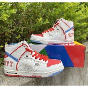 Ishod Wair Magnus Walker Dunks أحذية كرة السلة للرجال الحضري الخارجي سكيت أحذية رجالي 277 الزلاجات التمهيد النساء أحذية رياضية