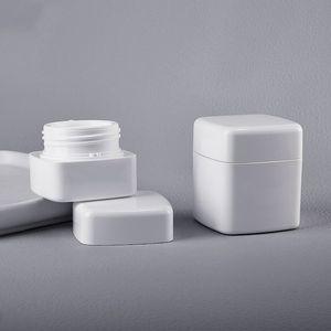 Белый PP Косметические балматы для бальзамов для бальзамы для губ для губ / крем для лица Crease BPA бесплатно (без логотипа) 30 г 50 г